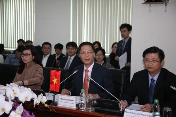 越韩力争至2020年将双向贸易额提升为1000亿美元 hinh anh 2
