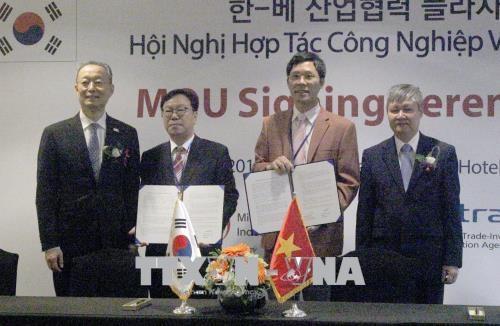 越南与韩国加强合作推动电力行业和可再生能源产业发展 hinh anh 1