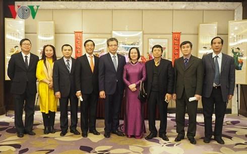 越南驻中国大使馆举行迎新春活动 hinh anh 2