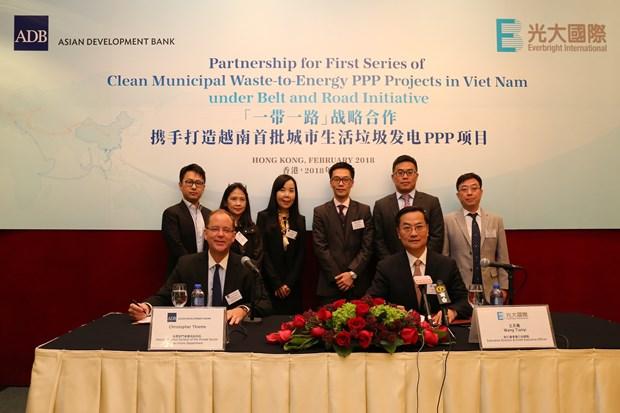 亚行向光大国际提供1亿美元贷款 协助在越南开展垃圾发电项目 hinh anh 1