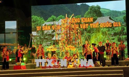 乂安省桑勘节正式被列入国家级非物质文化遗产名录 hinh anh 1