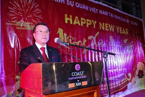 旅居加拿大西部地区越南人喜迎新春过大年 hinh anh 1