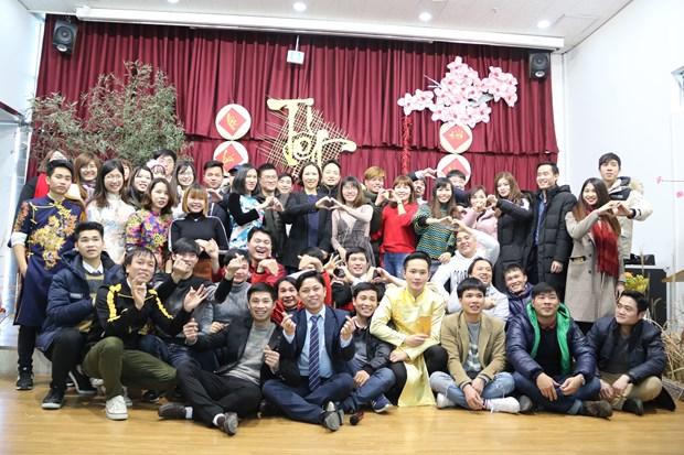 韩国华城市政府高度评价在韩越南人的贡献 hinh anh 1