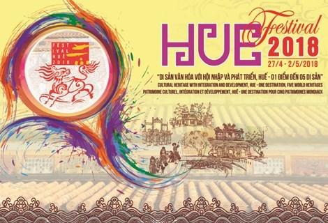 2018年顺化文化节将于4月27日至5月2日举行 hinh anh 1