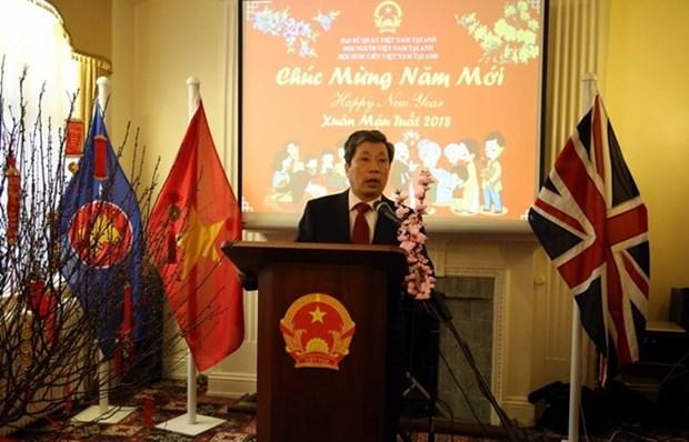 在美国和英国越南人欢度新春 hinh anh 2