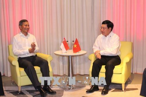 新加坡将协助越南制定产业转型路线图 hinh anh 2