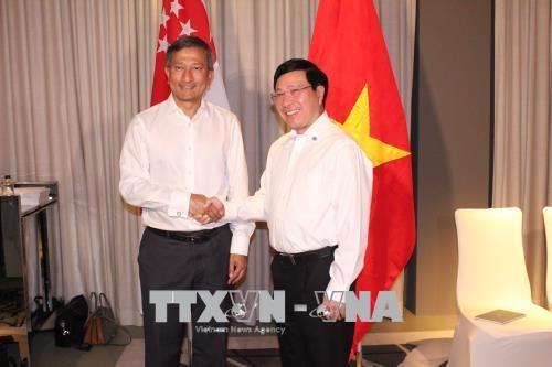 新加坡将协助越南制定产业转型路线图 hinh anh 1