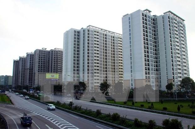 2018年1月份河内市房地产行业成交量环比增长13.8% hinh anh 1