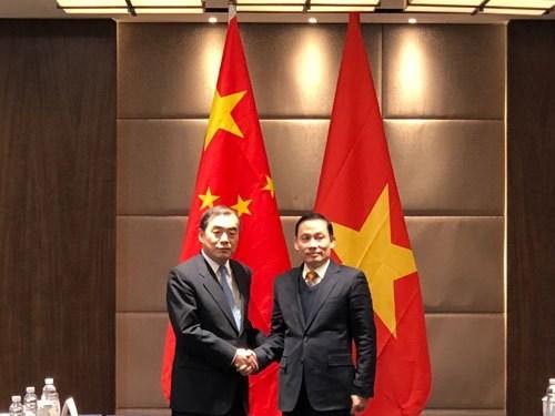 越中两国副外长举行磋商 hinh anh 1