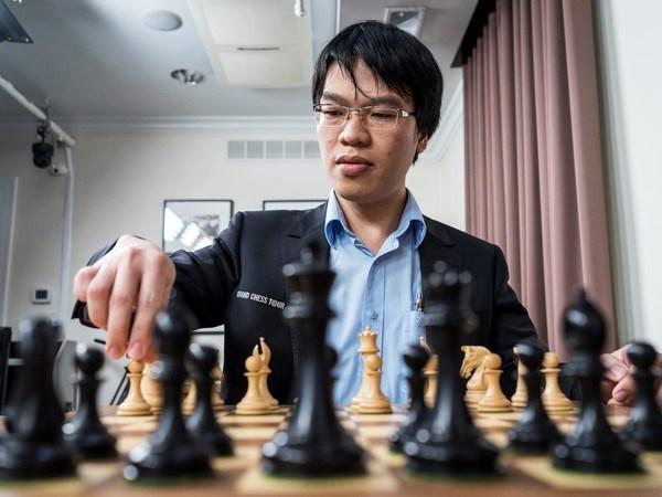 越南棋手黎光廉首次进入世界20强 hinh anh 1