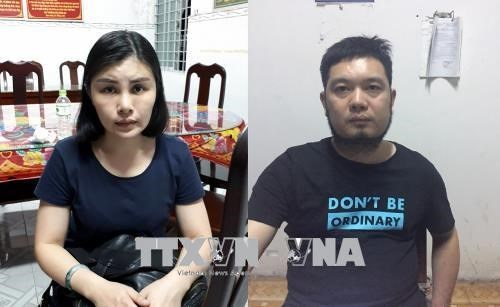 成功抓捕在越南逃避的中国通缉犯 hinh anh 1