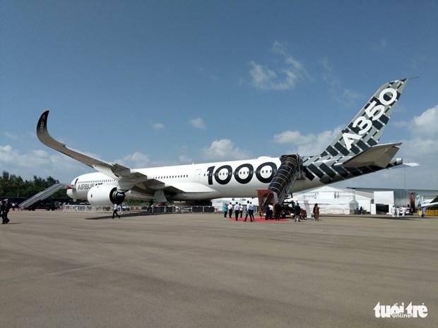 越南参加亚洲最具规模的国际航空展览会 hinh anh 2