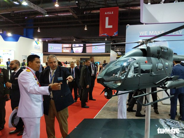 越南参加亚洲最具规模的国际航空展览会 hinh anh 3