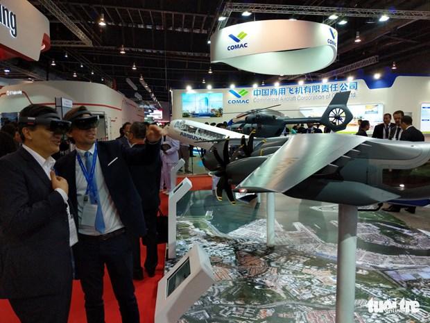 越南参加亚洲最具规模的国际航空展览会 hinh anh 1