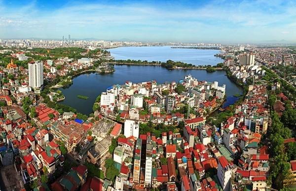 越南世界城市项目进入尾声 hinh anh 1
