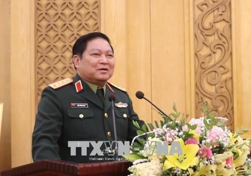越南国防部部长吴春历:防务关系成为越中关系的支柱 hinh anh 1