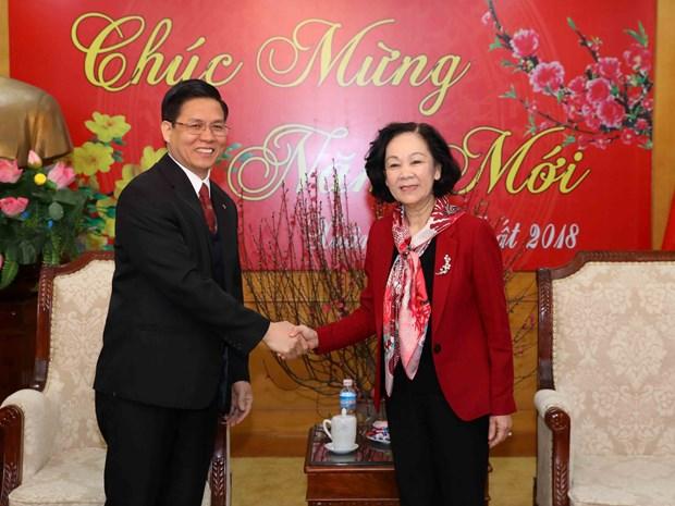 中央民运部与越南福音教教会的关系日益密切 hinh anh 1
