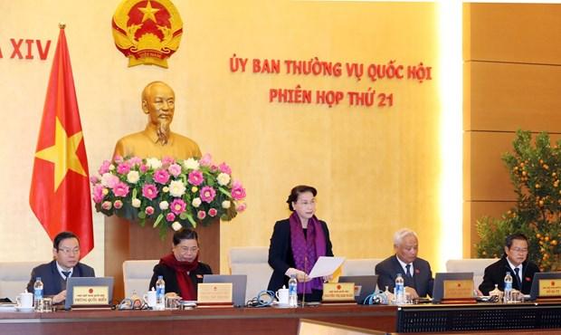 越南国会常委会第21次会议在河内闭幕 hinh anh 1