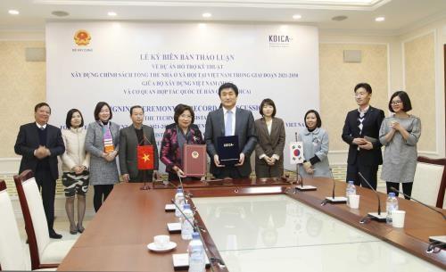 韩国国际协力机构协助越南制定保障性住房政策 hinh anh 1