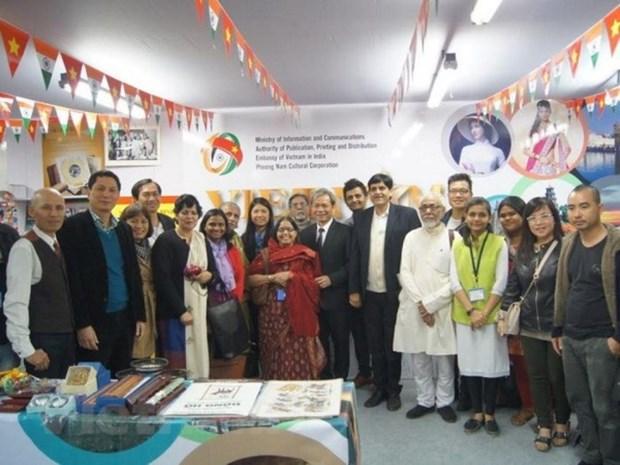 越南图书亮相第42届加尔各答国际书展 hinh anh 1