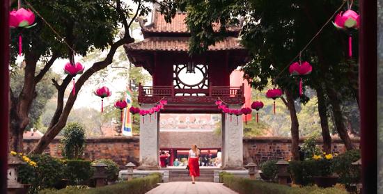 2017年河内旅游业保持稳定增长趋势 hinh anh 1