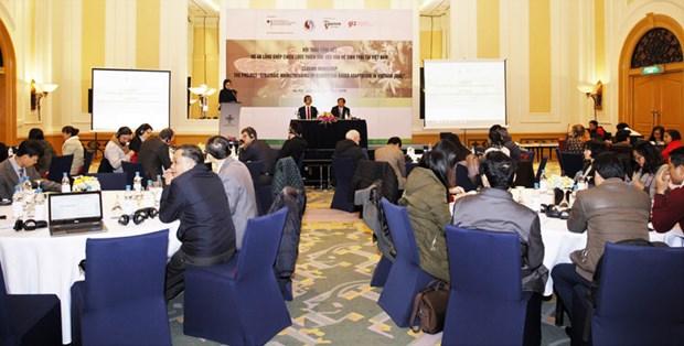 越南有效依靠生态体系将各项适应气候变化战略相结合 hinh anh 1