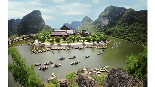 宁平省长安生态旅游区上的第三个水上游线即将开通 hinh anh 1