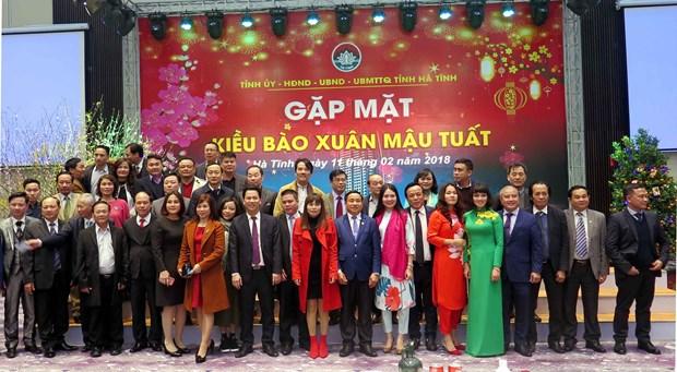 越南各地举行春节见面会 向武装力量和越南侨胞拜年 hinh anh 2