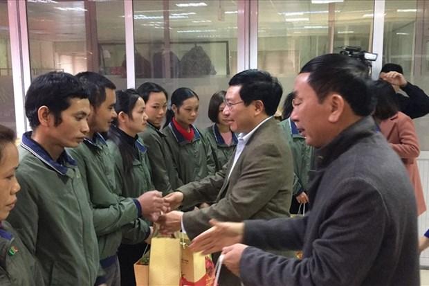 范平明春节前走访慰问太原省优抚对象和困难群众 hinh anh 1