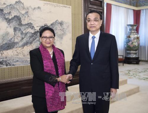 中国与印尼就实现发展战略对接达成共识 hinh anh 1