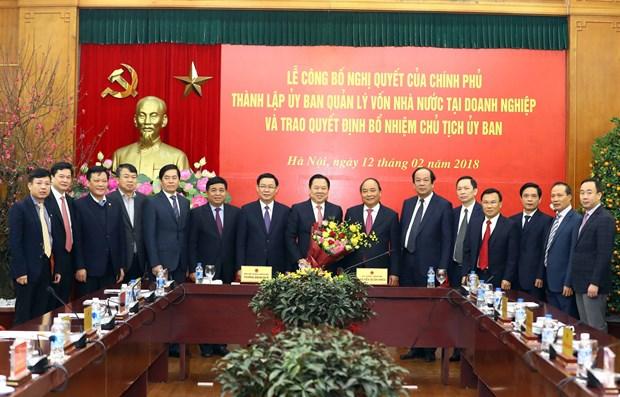 越南政府总理阮春福:早日把国有企业移交给企业国有资产管理委员会 hinh anh 2