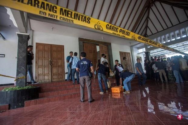 印尼日惹教堂发生袭击案 四人受伤 hinh anh 1