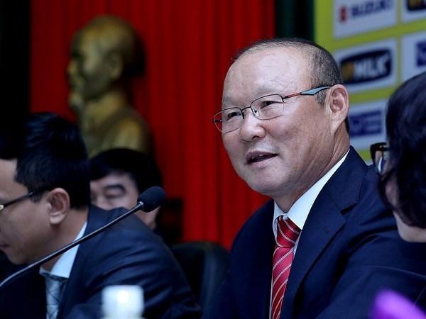 韩国籍主教练朴恒绪相信越南足球有望取得更多成功 hinh anh 1