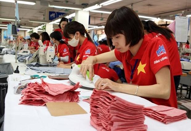 2018年越南纺织服装行业力争出口总额达340亿美元 hinh anh 2
