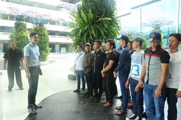 春节前众多越南渔民获印尼释放 hinh anh 1