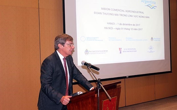 阿根廷驻越大使: 越南——一个成功国家的典范 hinh anh 1