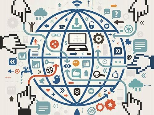 互联网改变边境人民的生活方式 hinh anh 1