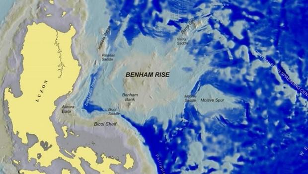 菲律宾反对中国在位于该国大陆架的部分海底地形命名 hinh anh 1