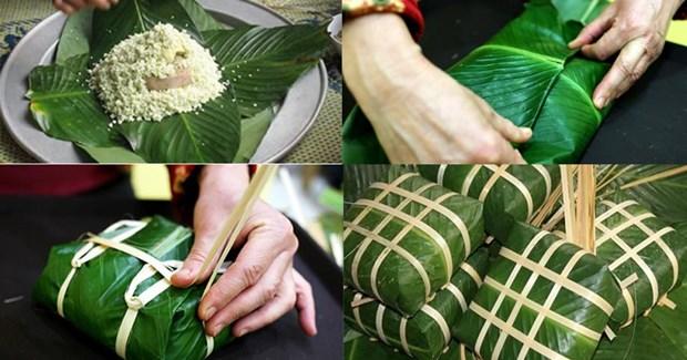 过年包粽子——越南民族美好文化特色 hinh anh 1