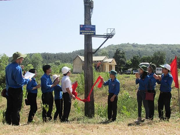 越南青年团员为新农村和文明城市建设做出积极贡献 hinh anh 1