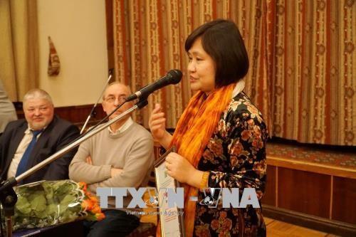 越南女翻译家荣获俄罗斯文学翻译奖 hinh anh 2