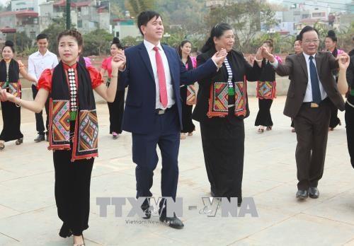 国会副主席丛氏放与山罗省人民共度春节 hinh anh 2