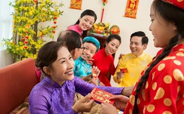 派压岁钱——越南人春节传统美俗 hinh anh 1