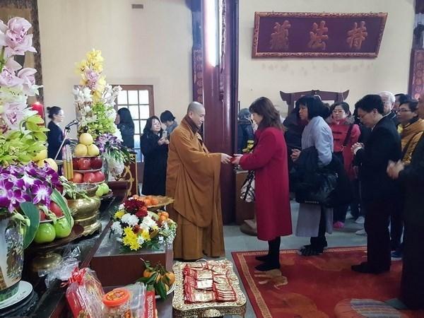旅居法国和委内瑞拉越南人喜迎新春 hinh anh 1