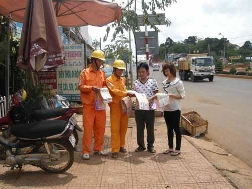 得农省99.5%的乡村已经通电 hinh anh 1