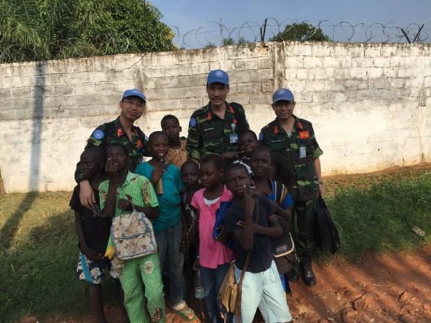 参加联合国维和行动 ——越南对外政策中的亮点 hinh anh 2