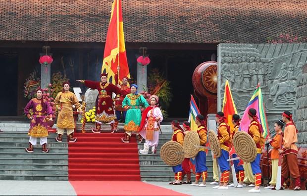 政府总理阮春福出席纪念玉回—栋多大捷229周年的栋多丘庙会 hinh anh 2