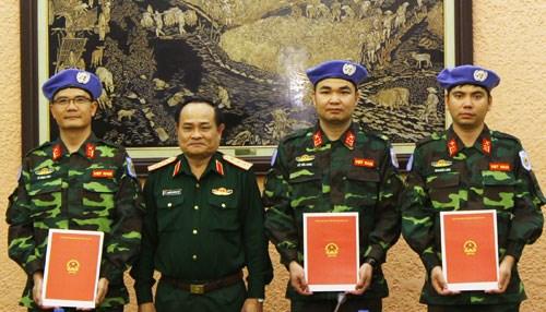 参加联合国维和行动 ——越南对外政策中的亮点 hinh anh 1