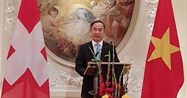 越南当选法瑞士法语大使小组轮值主席一职 hinh anh 1