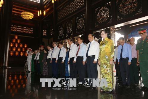 胡志明市举行西贡-堤岸-嘉定革命传统见面会 hinh anh 1